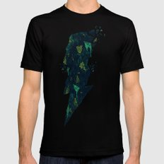 Dark Matter X-LARGE Black Mens Fitted Tee