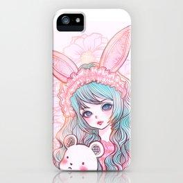 bunbunjii bluehair *GirlsCollection* iPhone Case