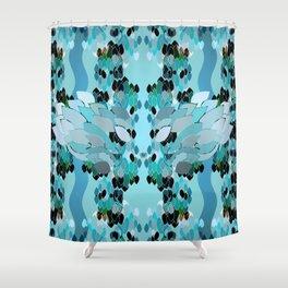 Discreet Guardian Shower Curtain