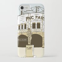 pittsburgh iPhone & iPod Cases featuring Pittsburgh Baseball by K. Sekelsky