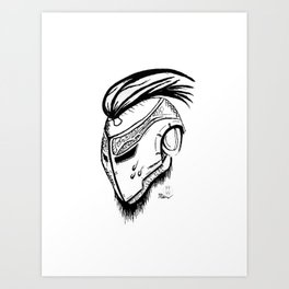 Iron Champion Art Print