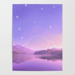 Sleeping Planet Poster