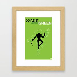 SOYLENT GREEN ReMAKE Framed Art Print