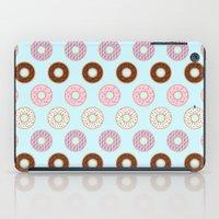doughnut iPad Cases featuring Doughnut Polka by Karolis Butenas
