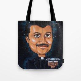Preaching Science Tote Bag