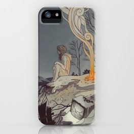 Pixels and Dust iPhone Case