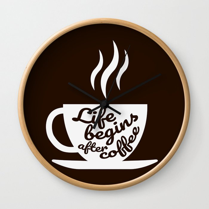 The Coffee Lover II Wall Clock