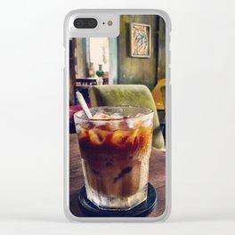 Coffee in Saigon Clear iPhone Case