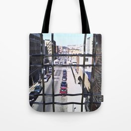 wrong turn in brooklyn Tote Bag
