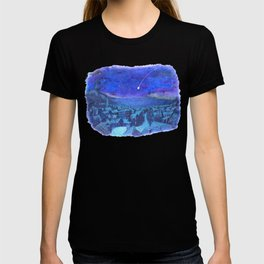A shooting star and streets T-shirt