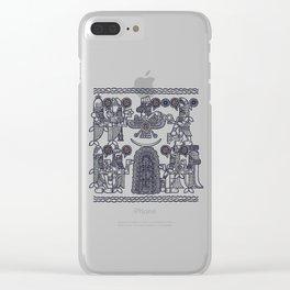 The Seven Fish Demigods of Eridu Clear iPhone Case