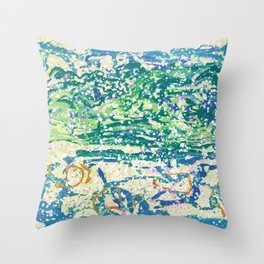 Skopelos dream Throw Pillow