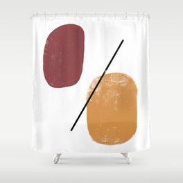 abstract 020319 Shower Curtain
