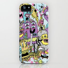 The Adventures of Rad Story iPhone Case
