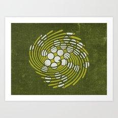 Circles in Vortex Art Print