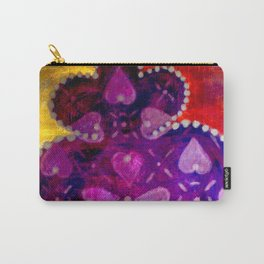heart of Viana Carry-All Pouch
