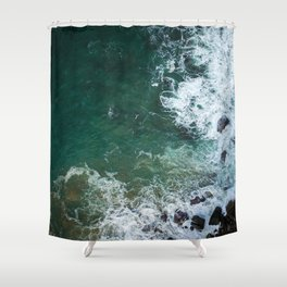 Cliff 5 Shower Curtain