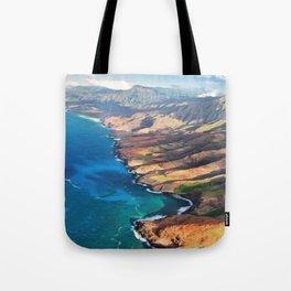 North Na Pali Coast Tote Bag