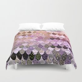 SUMMER MERMAID MOONSHINE  GOLD 2 Duvet Cover