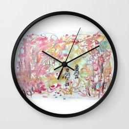 Hansel & Gretel in the Wood Wall Clock