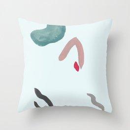 DISLOCATE Throw Pillow