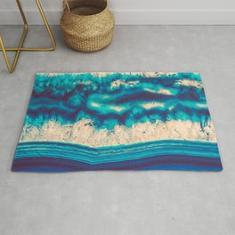 Blue Agate Water Element Rug