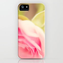 PINK ROSES IIII iPhone Case