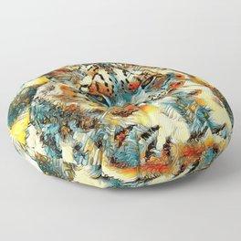 AnimalArt_Leopard_20170601_by_JAMColorsSpecial Floor Pillow