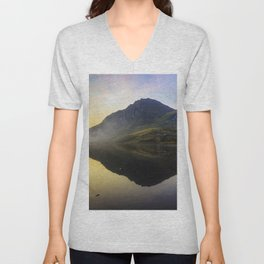 Tryfan Sunrise Unisex V-Neck