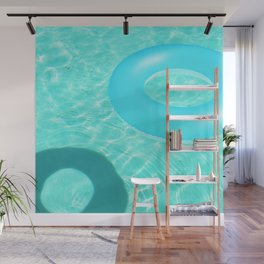 Pool Rings in Palm Springs - Abstract Minimalist Photography Wall Mural