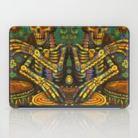 drums iPad Cases featuring Death Drums by Sherdeb Akadan