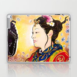 Amaterasu Goddess Laptop & iPad Skin