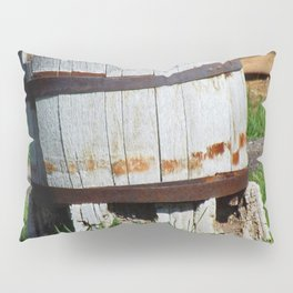 Old Barrel - Jeronimo Rubio Photography 2016 Pillow Sham