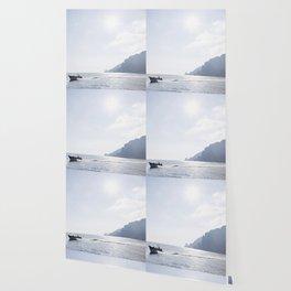 Blue Capri Wallpaper