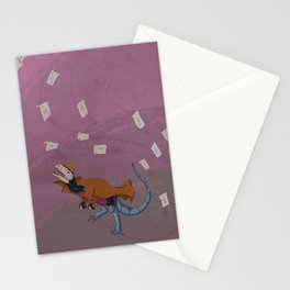 Gambilophosaurus - Superhero Dinosaurs Series Stationery Cards