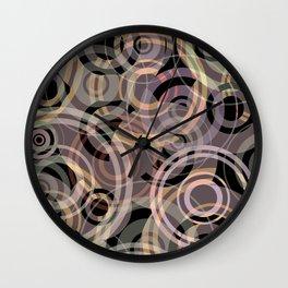 PATTERN-8 [gentle circles] Wall Clock