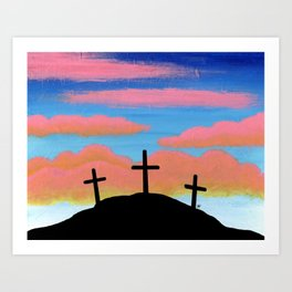 Jesus Christ and Him Crucified Art Print