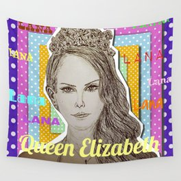 (Queen Elizabeth - Lana) - yks by ofs珊 Wall Tapestry