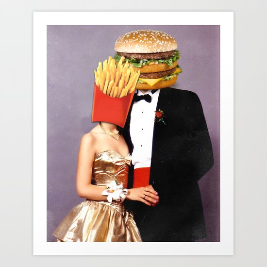 Perfect couple Art Print