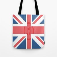 england Tote Bags featuring  England by XKbeth