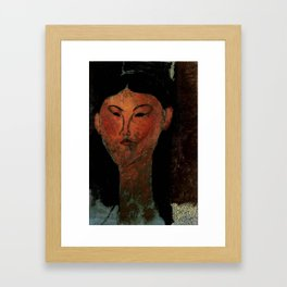 "Amedeo Modigliani ""Beatrice Hastings"" (1915) Framed Art Print"