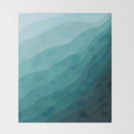 Stratum 2 Aqua Throw Blanket