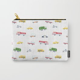 Cars and Trucks Collection Carry-All Pouch