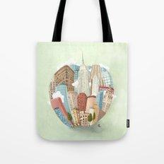 The Big Apple and I Tote Bag