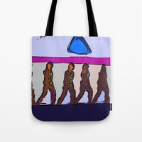 army Tote Bags featuring Army Dreamers by Avigur