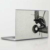 scott pilgrim Laptop & iPad Skins featuring Pilgrim I. by Dr. Lukas Brezak