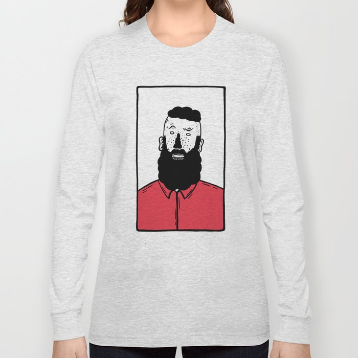 BearD Guy Long Sleeve T-shirt