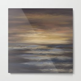 Sea's The Day Metal Print