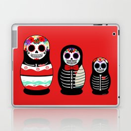 Halloween Russian dolls Laptop & iPad Skin
