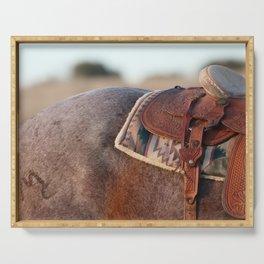 Saddle Serving Tray